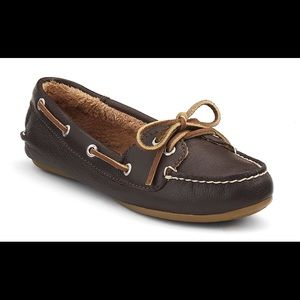 Sperry top sided leather flat